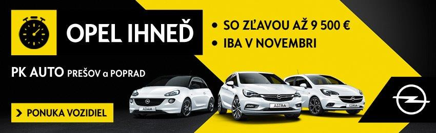 PK AUTO 112018 Opel Ihned
