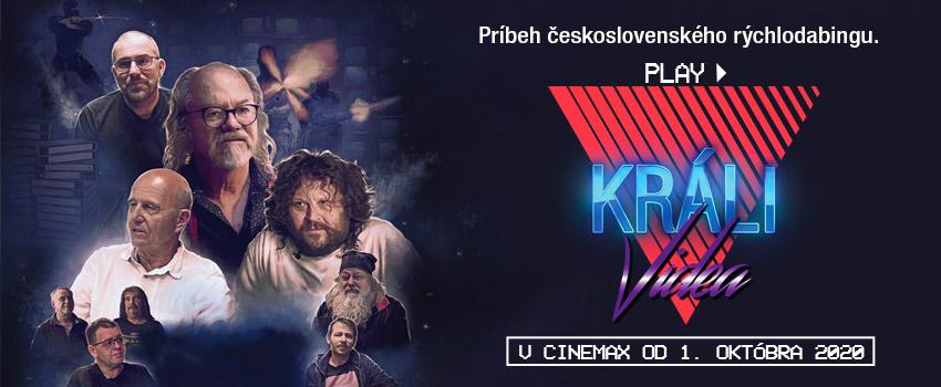 KRÁLI VIDEA / film banner/