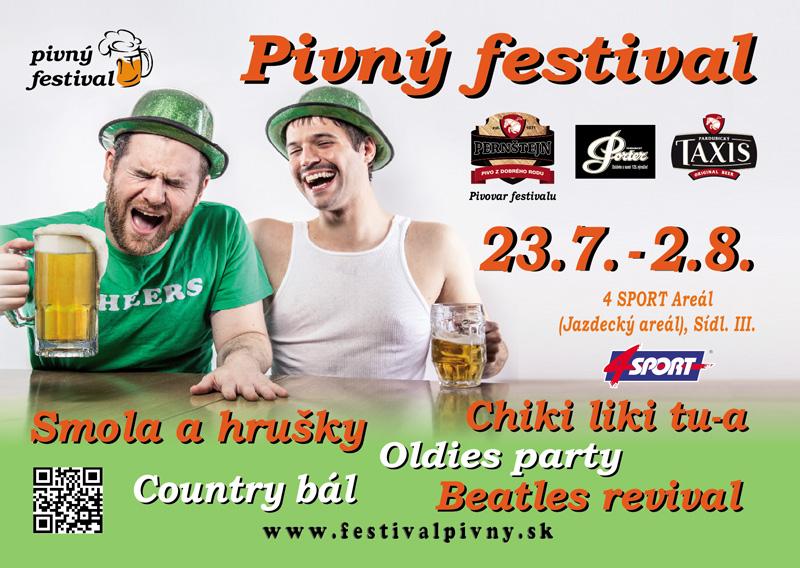 5. ročník Pivného festivalu sa uskutoční v dňoch 23.7. - 2. 8. 2015