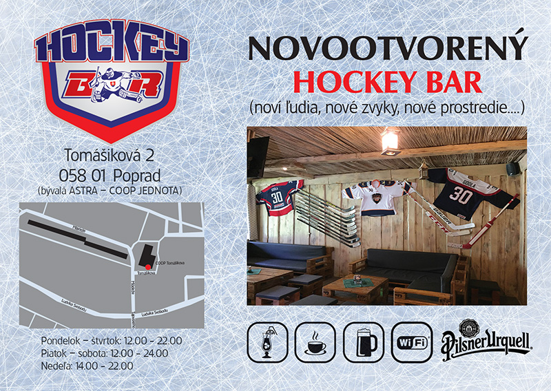 Novootvorený Hockey Bar