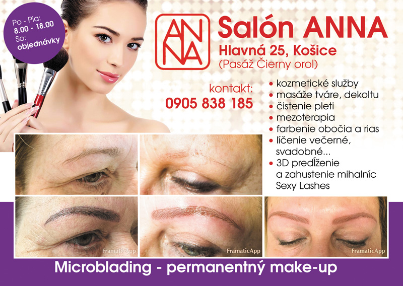 Microblading - permanentný make-up