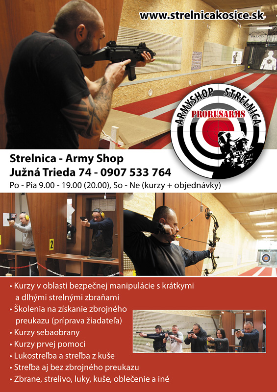 Strelnica - Army Shop
