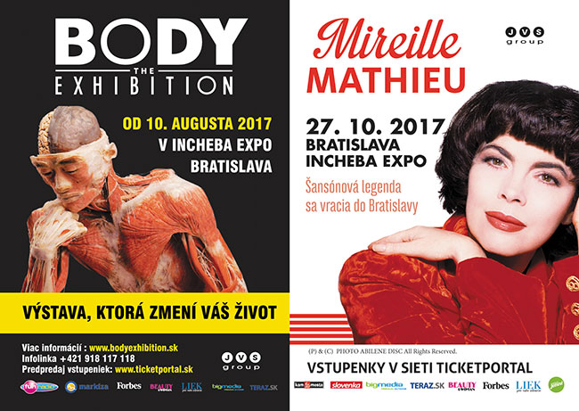 Body Exhibition - Mireille Mathieu