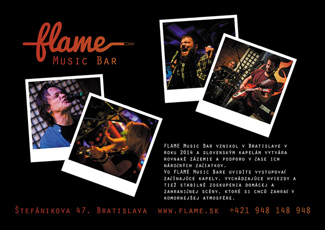 Music bar - Flame