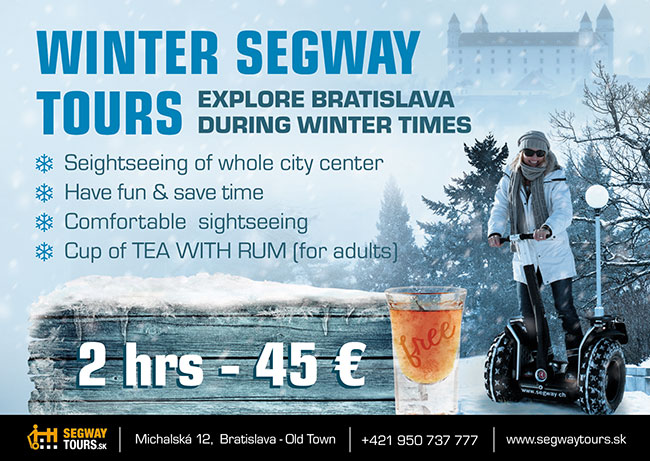 Winter segway tours