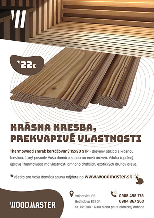 Thermowood smrek