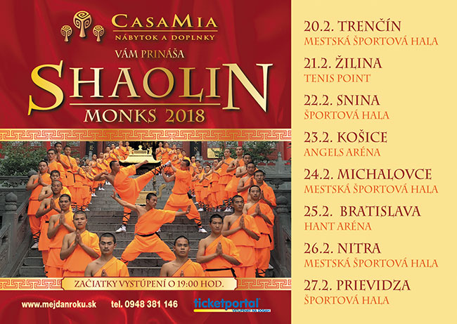 Shaolin Monks 2018